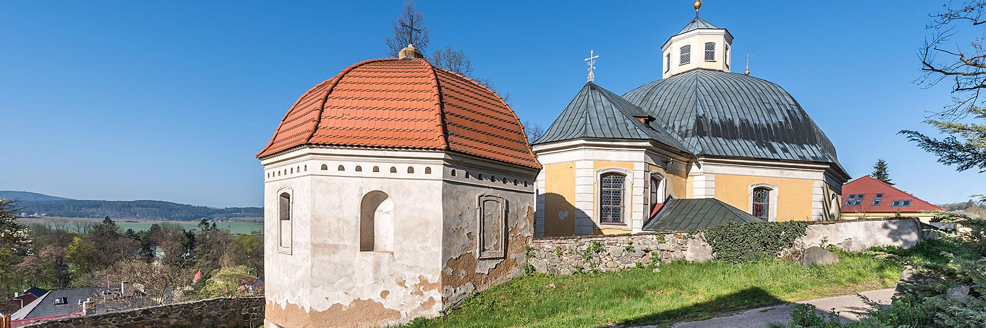 kostel ve Slapech / fotografování architektury / fotograf Vojtěch Pavelčík