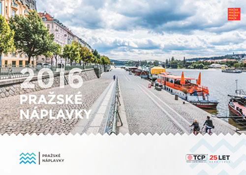 Pražské náplavky / kalendář 2016 / fotograf Vojtěch Pavelčík