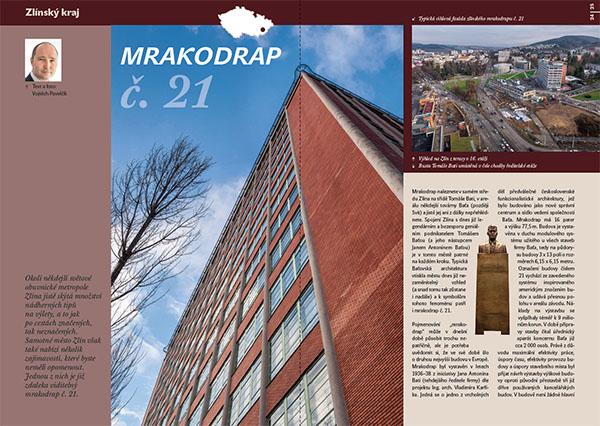 Mrakodrap č. 21 / časopis Turista