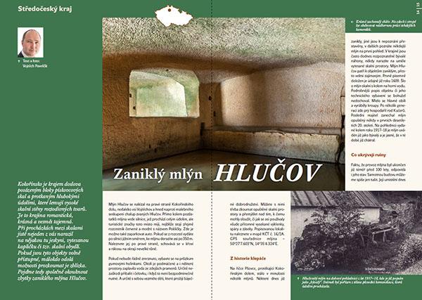 Zaniklý mlýn Hlučov / časopis Turista