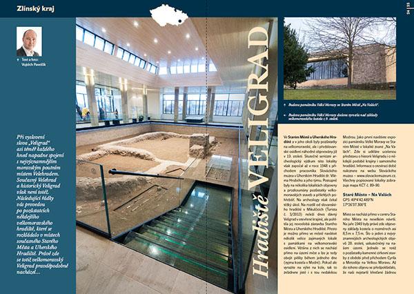 Hradiště Veligrad / časopis Turista