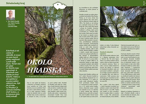 Okolo Hradska / časopis Turista