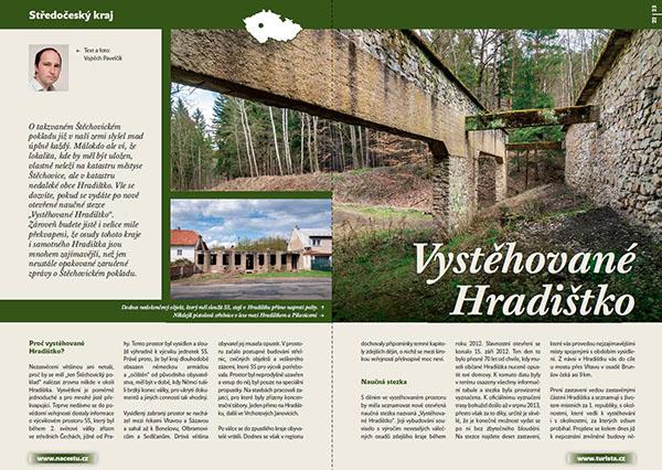 Vystěhované Hradištko / časopis Turista