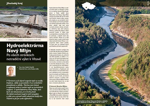 Hydroelektrárna Nový Mlýn / časopis Turista