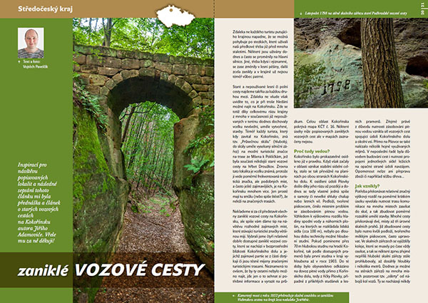 Zaniklé vozové cesty / časopis Turista