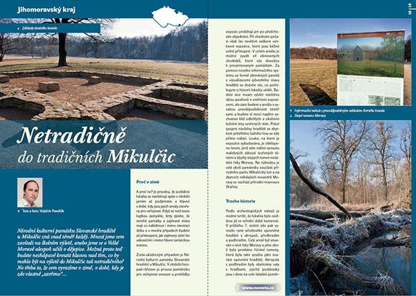Netradičně do tradičních Mikulčic / časopis Turista