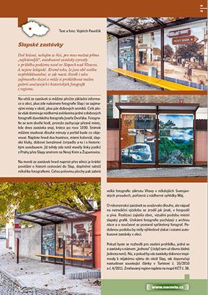 Slapské zastávky / časopis Turista