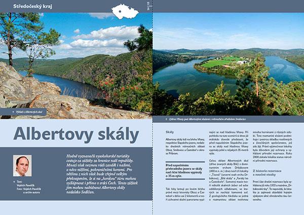 Albertovy skály / časopis Turista