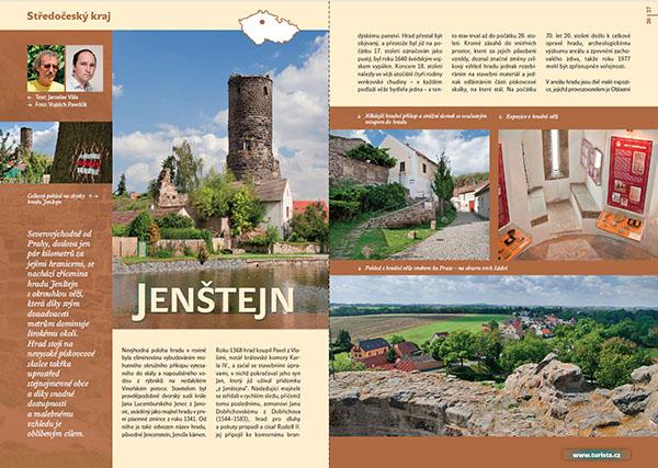Jenštejn / časopis Turista