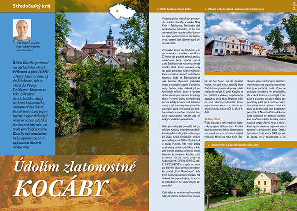 Údolím zlatonosné Kocáby / časopis Turista