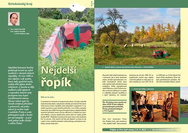 Nejdelší řopík / časopis Turista