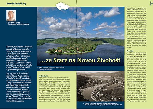 ...ze Staré na Novou Živohošť / časopis Turista
