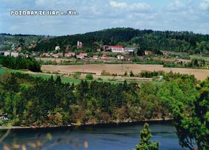 pohlednice / Pozdrav ze Slap nad Vltavou / V06