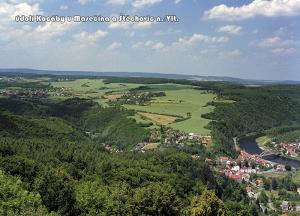 pohlednice / údolí Kocáby u Masečína a Štěchovic / V17