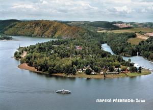 pohlednice / Slapská přehrada: Ždáň / V22