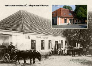 pohlednice / Restaurace U Neužilů – Slapy nad Vltavou / V25