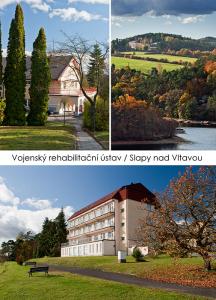pohlednice / Vojenský rehabilitační ústav, Slapy nad Vltavou / V27