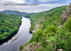 pohlednice / Vltava ze Smetanovy vyhlídky / V42