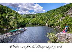 pohlednice / Pozdrav z výletu do Svatojanských proudů / V45