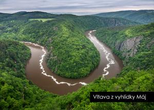 pohlednice / Vltava z vyhlídky Máj / V52