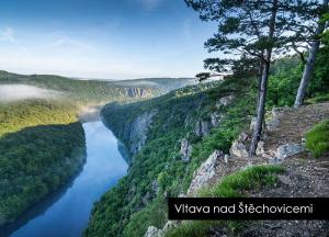 pohlednice / Vltava nad Štěchovicemi / V54