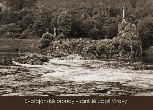 pohlednice / Svatojanské proudy – zaniklé údolí Vltavy / VR01