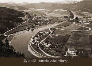pohlednice / Živohošť – zaniklé údolí Vltavy / VR03