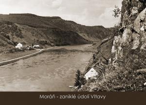 pohlednice / Moráň – zaniklé údolí Vltavy / VR04