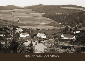 pohlednice / Ústí – zaniklé údolí Vltavy / VR05