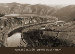 pohlednice / Královská a Ždáň – zaniklé údolí Vltavy / VR06