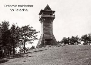 pohlednice / Drtinova rozhledna na Besedné / VR09