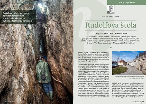 Rudolfova štola / časopis NaCestu
