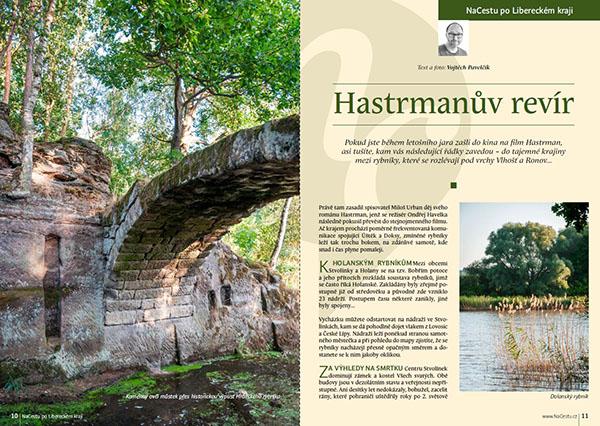 Hastrmanův revír / časopis NaCestu
