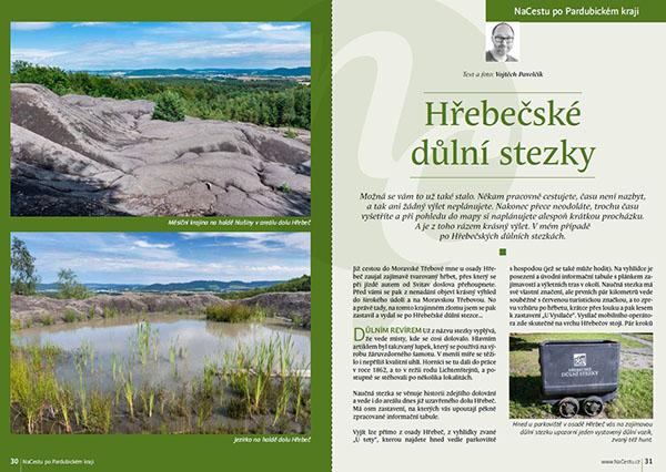 Hřebečské důlní stezky / časopis NaCestu