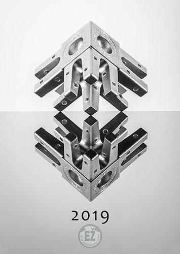 65. let Elektrizace železnic a.s. / kalendář 2019 / fotograf Vojtěch Pavelčík