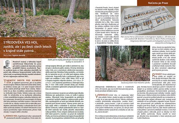 Středověká ves Hol / časopis NaCestu