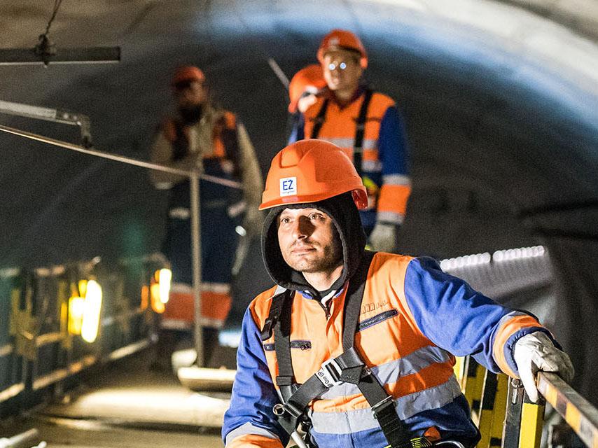 železniční tunel Ejpovice / reportážní fotograf / fotograf Vojtěch Pavelčík
